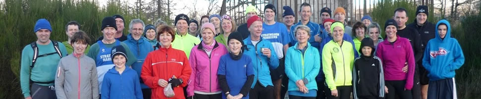 Strathearn Harriers - New Year's Day Run 2014