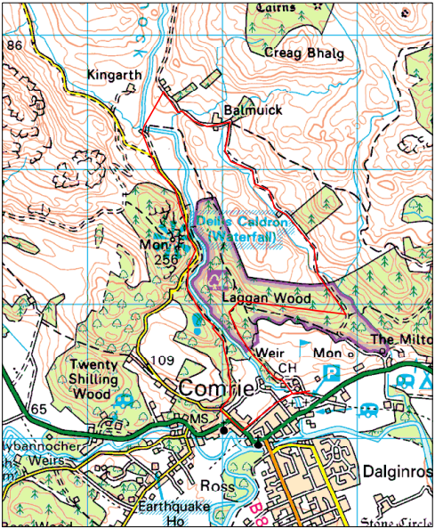 Comrie Fortnight Hill Race