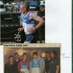 Harriers fund-raising mini-marathon for Logos, 2004.jpg